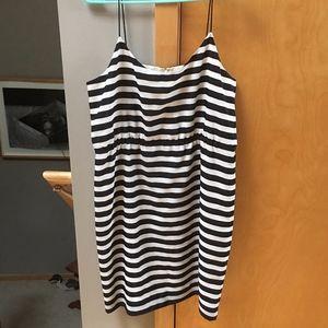 J. Crew Factory striped dress